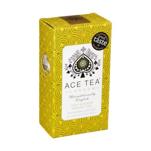 Teboks fra Ace Tea med smak av varm ingefær