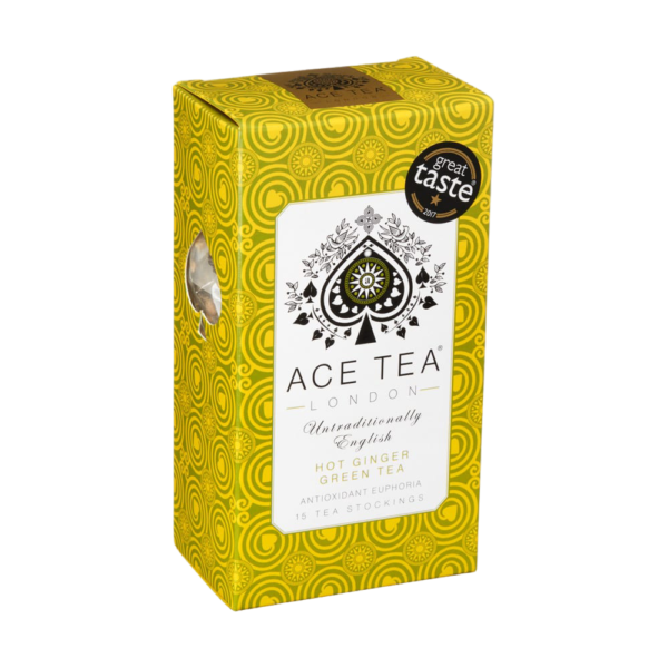 Ace Tea Hot Ginger - Ingefærte i fin eske