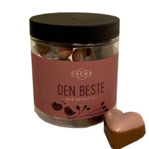 Crema Nougat Sjokolade Hjerter