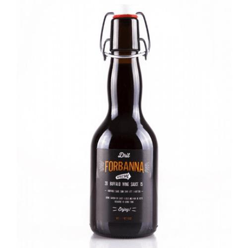 En vakker flaske med nydelig Buffalo Wing Saus til alt kjøtt