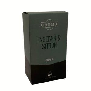 Ingefær og Sitron-te i eske