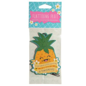 Tropisk ananas - luftfrisker til bil og hjem