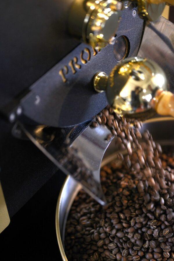 Prøvebrenner for kaffe