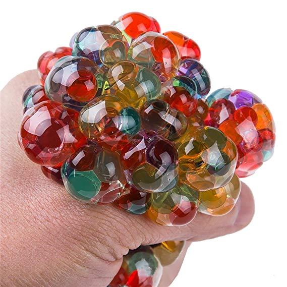 Regnbue squishy stressball