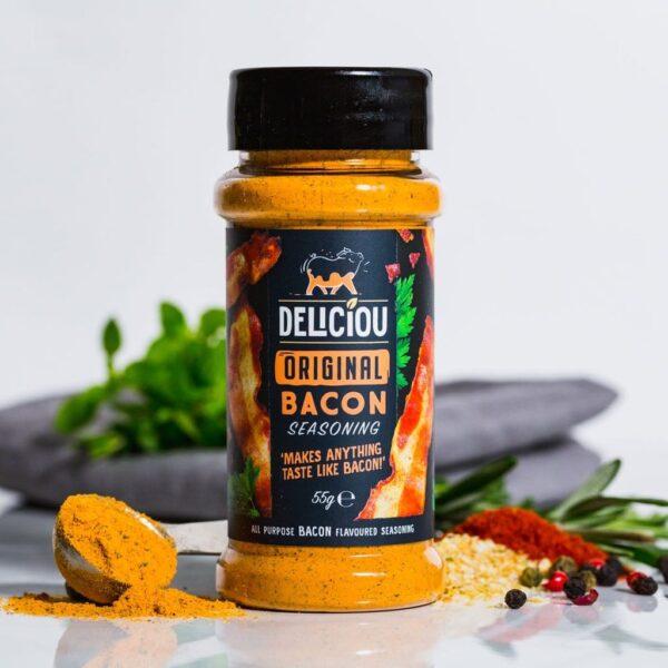 Baconkrydder Original krydderboks fra Deliciou