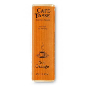 Cafe Tasse Noir Orange
