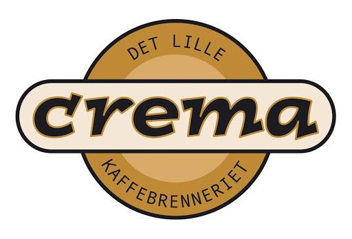 Det lille kaffebrenneriet Crema - Logo
