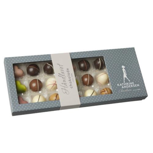 Dessertsjokolade (180g) fra Kathrine Andersen i gaveeske