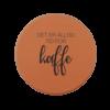 Drikkebrikke - Alltid Tid For Kaffe (brun, oransje)