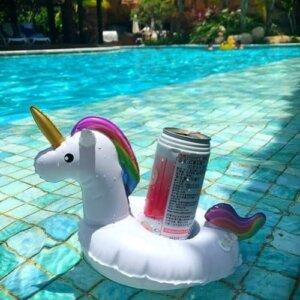 enhjorning fest drikkeholder basseng
