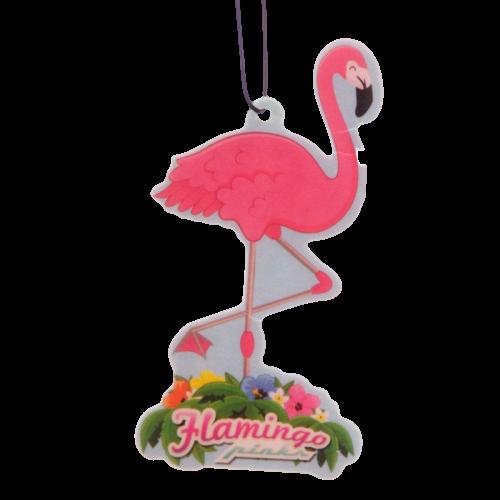 Flamingoformet luftfrisker med tropiske dufter