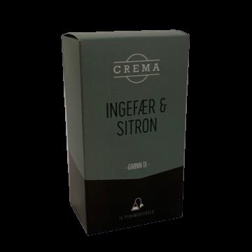 Ingefær og Sitron-te