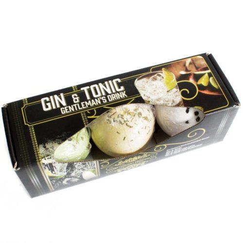 Gin & Tonic Gentleman's Drink Badebomber i gaveeske