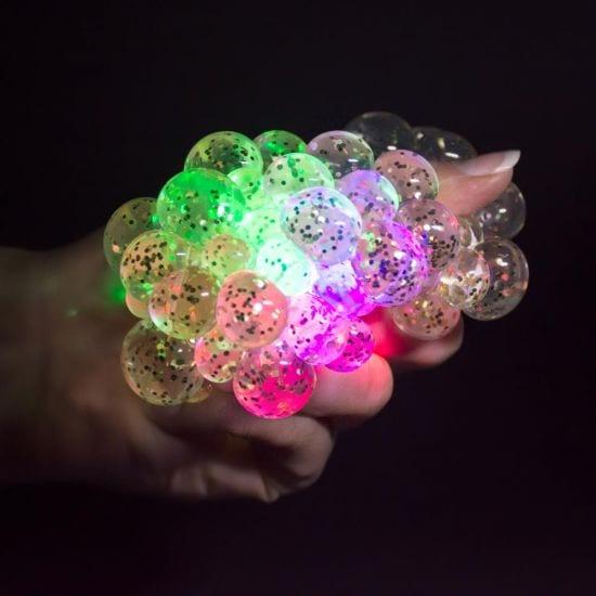 glow squishy ball