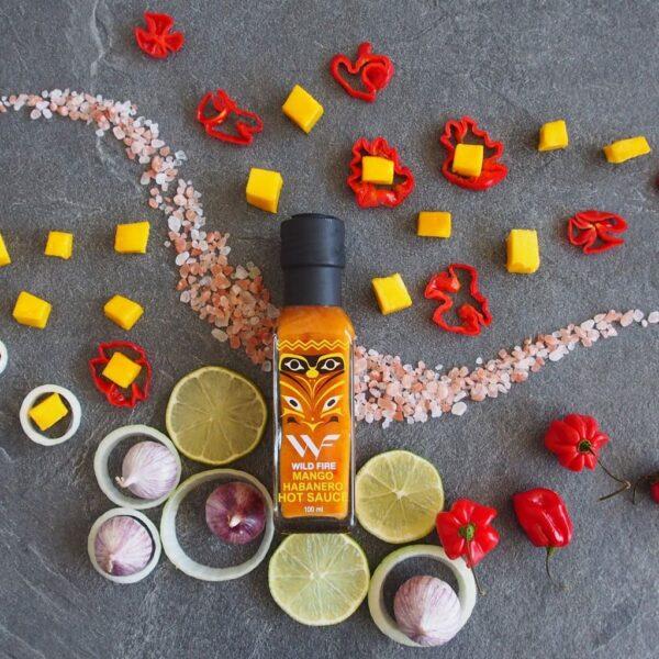 hot mango habanero saus