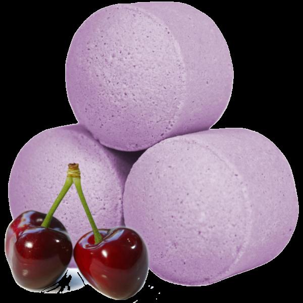 Kirsebær Chill Pills - Badebomber