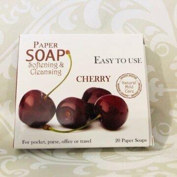 Papirsåpe – Kirsebær