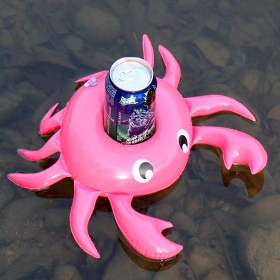 krabbe drikkeholder..