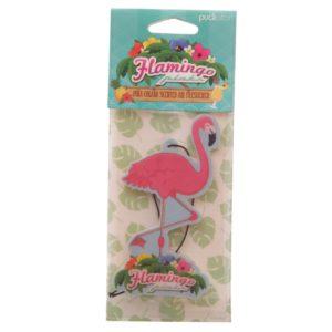 Flamingo luftfrisker i emballasje