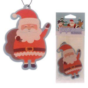Luftfrisker formet som en julenisse samt emballasje