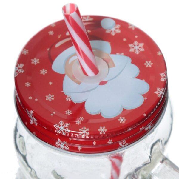 mason jar snoemann med sugeroer