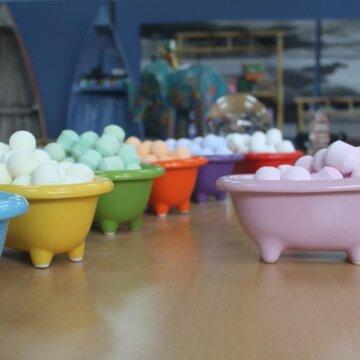 mini badekar farger