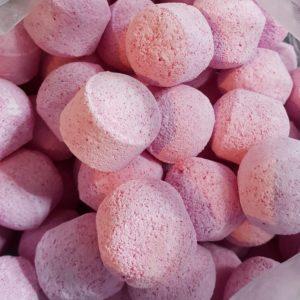 Badebomber med lukt av pasjonsfrukt