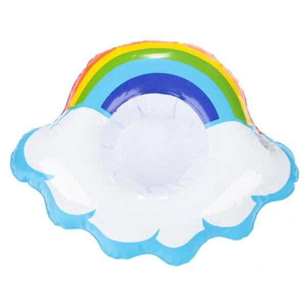 regnbue sky drikkeholder..