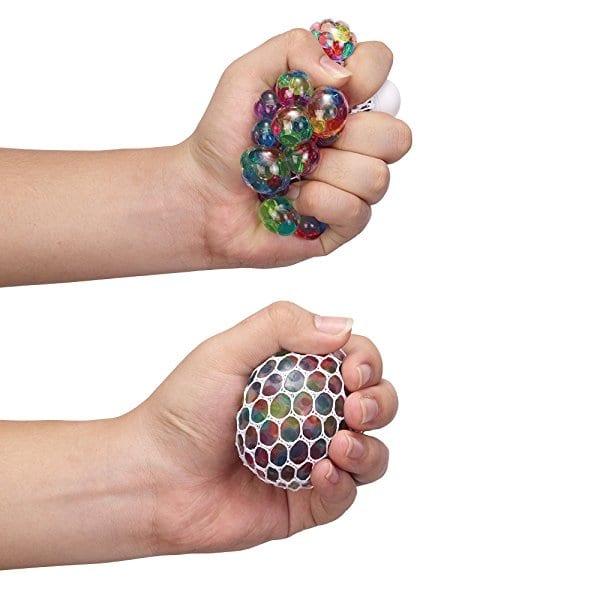 regnbue squishystressball
