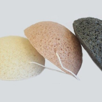 Konjak Svamp i flere farger