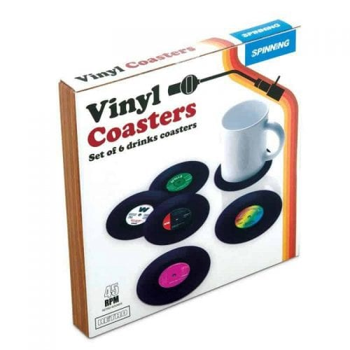 Vinylplater - Drikkeunderlag