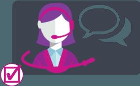 Ta kontakt med vår kundeservice - Døgnet rundt
