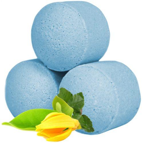 Ylang-Ylang Patchouli-duft - Små blå badebomber