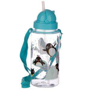 Drikkeflaske med pingvinmotiv
