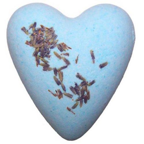 Blå badebombe med duft