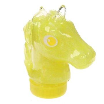 Enhjørningslim - gul