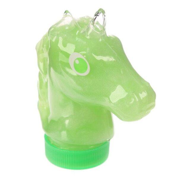 Enhjørningslim - grønt