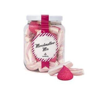 Marshmallow miks på plastkrukke