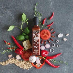 Sterk på smak - Glassflaske med Imperial Stout BBQ Saus