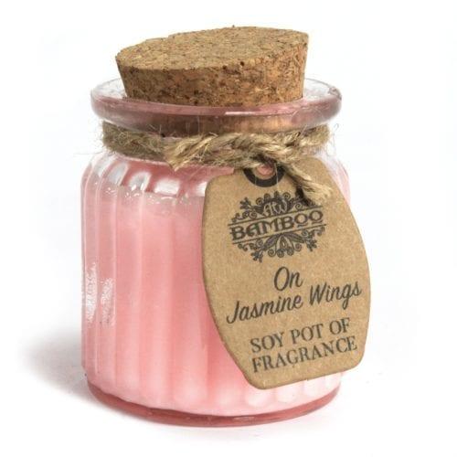Duftlys med hint av jasmine