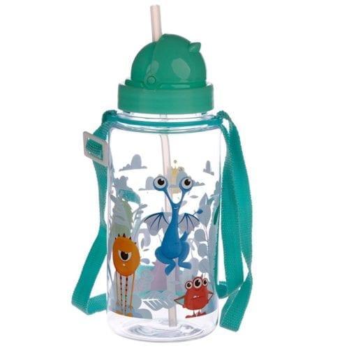 Drikkeflaske til barn med søte monster