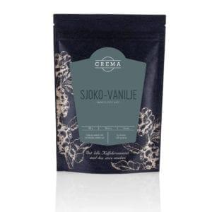 Kaffe fra Crema med hint av sjokolade og vanilje