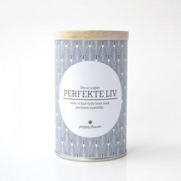 Perfekte liv duftlys fra Lea poppy flower tall
