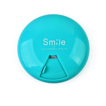 Smile pilleetui blå