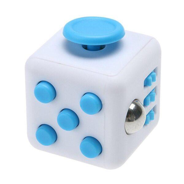 Blå Fidget Cube