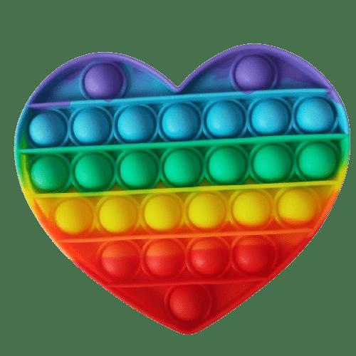 pop it fidget - hjerteform