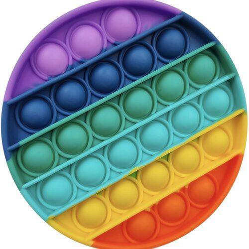 Pop It fidget i flere farger, rund